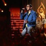 """Bruno canta """"Fugitivos"""" en la Gala 11 de 'OT 2020'"""