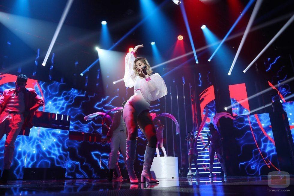 "Samantha canta ""Freed from Desire"" en la Gala 11 de 'OT 2020'"