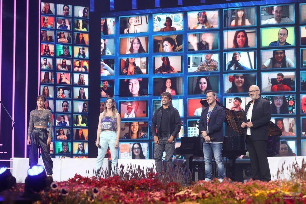 Los profesores de 'OT 2020' en la Gala 11