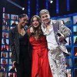 Nia, Eva y Hugo, primeros finalistas de 'OT 2020'
