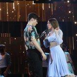 """Flavio y Eva interpretan """"Hey, Baby"""" en la Gala 12 de 'OT 2020'"""