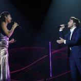 """Nia y Blas Cantó cantan """"Hoy tengo ganas de ti"""" en la semifinal de 'OT 2020'"""