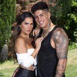 Ferre y Cristina Gilabert, concursantes de 'La casa fuerte'