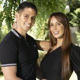 Christofer Guzmán y Fani Carbajo, concursantes de 'La casa fuerte'