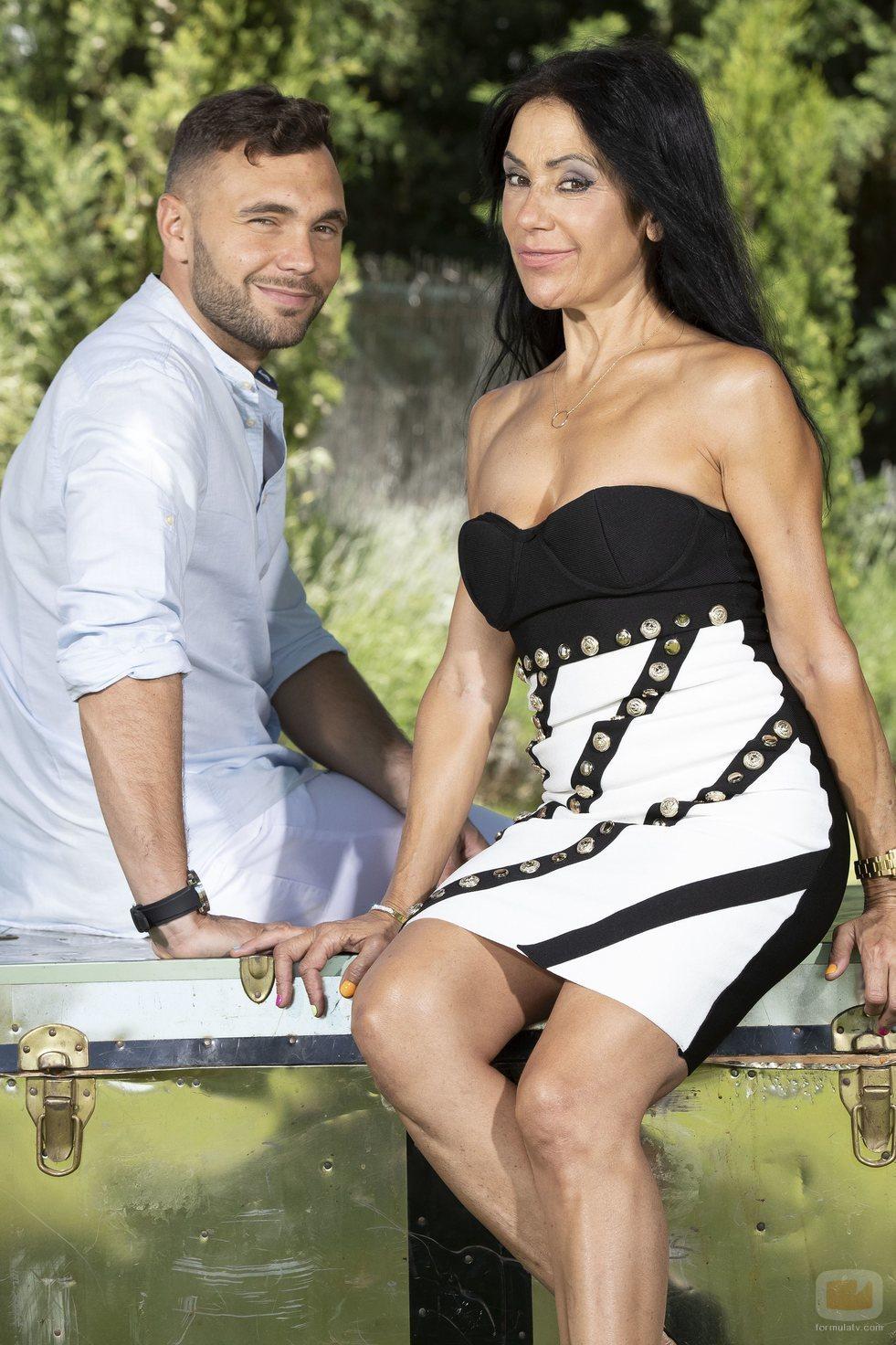 Maite Galdeano y Cristian Suescun, participantes de 'La casa fuerte'