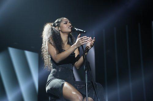 "Nia canta ""Say Something"", en la Gala Final de 'OT 2020'"