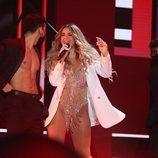 """Lola Índigo canta """"Mala cara"""" y """"4 besos"""" en la Gala Final de 'OT 2020'"""