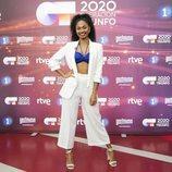 Nia posa en la rueda de prensa de 'OT 2020'