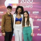 Los tres superfinalistas de 'OT 2020'