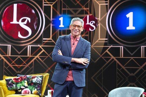 Boris Izaguirre en la presentación de la tercera temporada de 'Lazos de sangre'