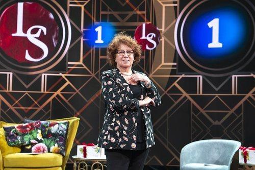 Rosa Villacastín en la presentación de la tercera temporada de 'Lazos de sangre'