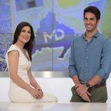 Santi Burgoa y Yolanda Maniega presentan 'Madrid Directo' en Telemadrid