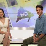 Santi Burgoa y Yolanda Maniega, presentadores de 'Madrid Directo' el fin de semana
