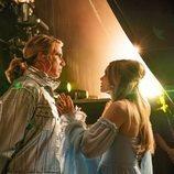 Lars y Sigrit se preparan en el escenario en 'Festival de la Canción de Eurovisión: La historia de Fire Saga'
