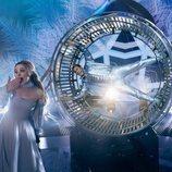 Lars y la rueda de hámster en 'Festival de la Canción de Eurovisión: La historia de Fire Saga'