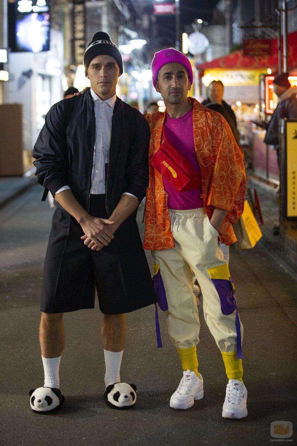 Antoni Porowski y Tan France en 'Queer Eye ¡Estamos en Japón!'