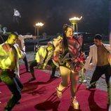 Netta hace su aparición en 'Festival de la Canción de Eurovisión: La historia de Fire Saga'
