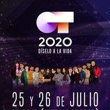 Cartel de los conciertos en Madrid de 'OT 2020'
