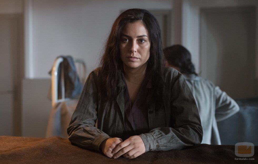 Blanca Suárez en la segunda parte de la quinta temporada de 'Las chicas del cable'