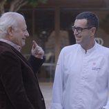 Juan Echanove habla con Ricard Camarena en 'De la vida al plato'