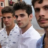 Jason Fernández, Álvaro Rico y Pol Hermoso, en 'Alba'