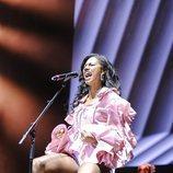 Nia Correia ('OT 2020') canta en el Wizink Center