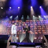 Bruno y Maialen cantan en el concierto de 'OT 2020'