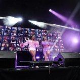 Nia y Eva, juntas en el concierto de 'OT 2020'