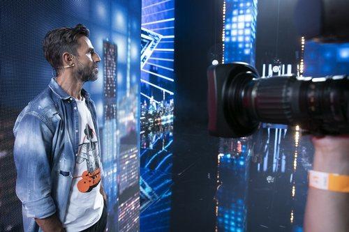 Santi Millán, entre bambalinas en 'Got Talent 6'