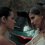 Maite Perroni y María Fernanda Yepes en 'Oscuro deseo'