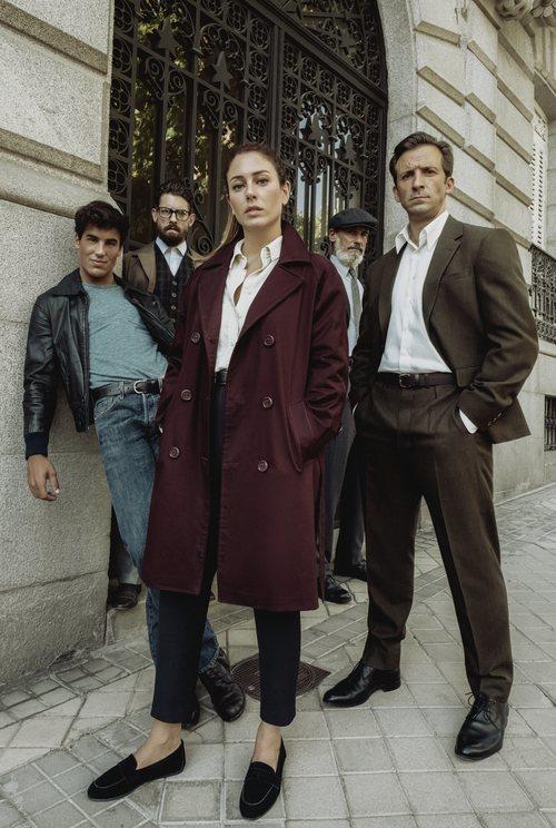 El elenco de 'Jaguar', la serie de Bambú Producciones y Netflix