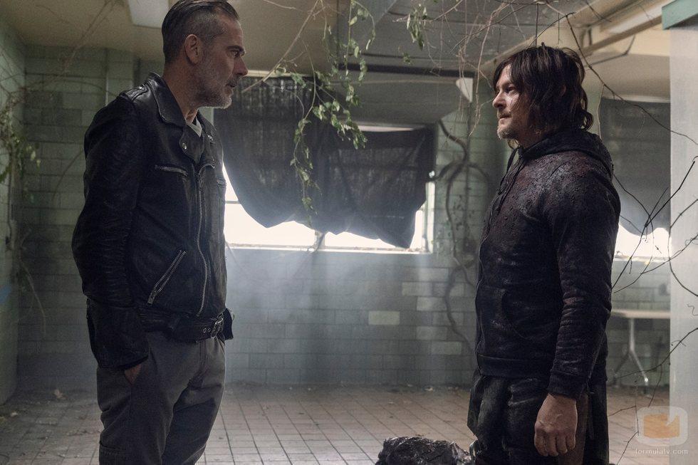 El reencuentro de Negan y Daryl en la temporada 10 de 'The Walking Dead'