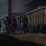 La Princesa, Eugene, Yumiko y Ezekiel en el 10x16 de 'The Walking Dead'