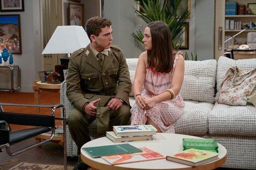 Álvaro de Juana y Sara Vidorreta en la novena temporada de 'Amar es para siempre'