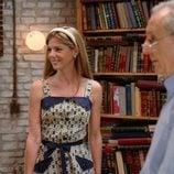 Manuela Velasco junto a José Antonio Sayagués en la novena temporada de 'Amar es para siempre'