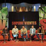 Jesús Vázquez presenta ante los medios la nueva edición de Supervivientes 2009