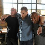 Dominic Purcell, Wentworth Miller y Amaury Nolasco