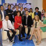 Equipo de 'Las mañanas de Cuatro' en los 500 programas