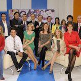 500 programas de 'Las mañanas de Cuatro', el equipo