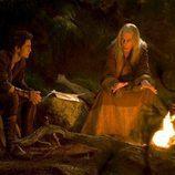 Craig Horner y Bruce Spence en 'La leyenda del buscador'
