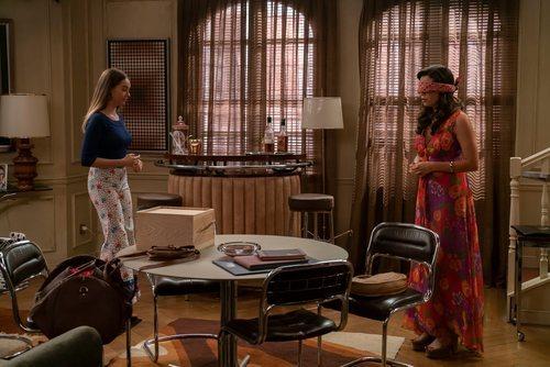 Luisita sorprende a Amelia en el King's antes de irse de 'Amar es para siempre'