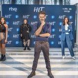 Los protagonistas de 'HIT' posan en el FesTVal de Vitoria Gasteiz