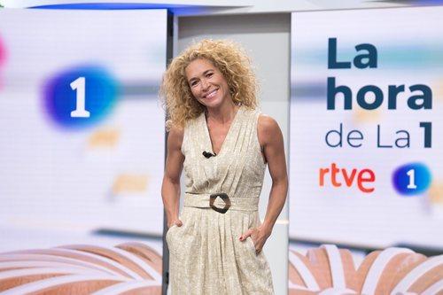 Cristina Fernández, colaboradora de 'La hora de La 1'
