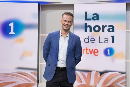 Igor Gómez, colaborador de 'La hora de La 1'