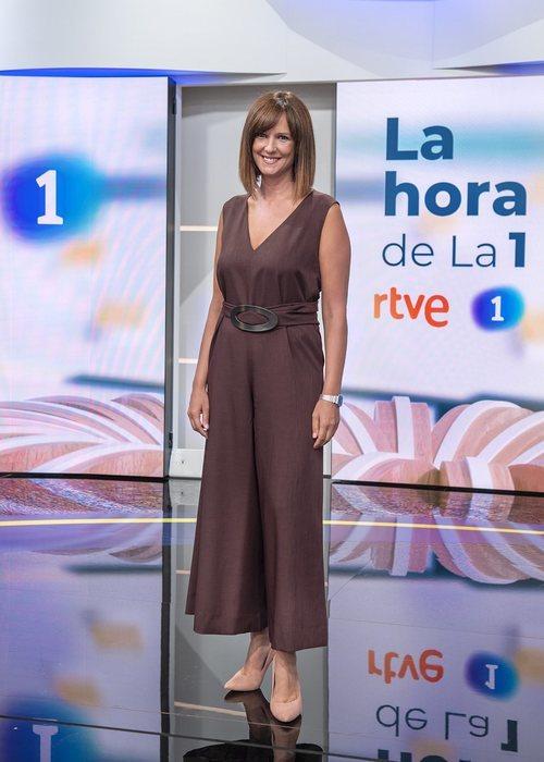 Mónica López presenta el magacín 'La hora de La 1'