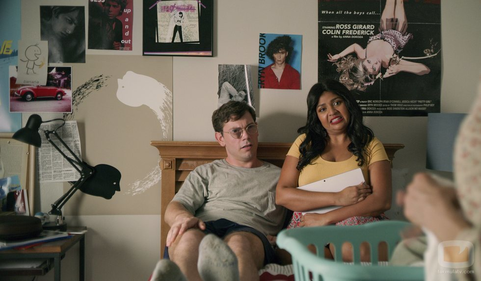 Ryan O'Connell y Punam Patel en 'Special'