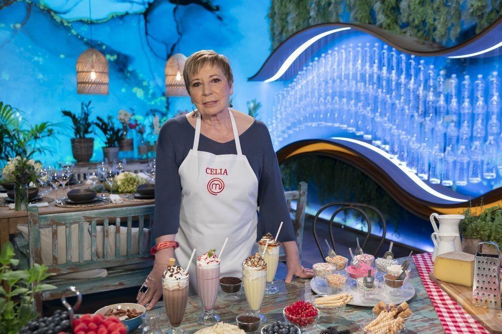 Celia Villalobos, concursante de 'MasterChef Celebrity 5'
