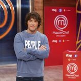 Jordi Cruz en la presentación de 'MasterChef Celebrity 5'