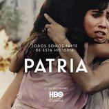 Loreto Mauleón como Arantxa en el póster de 'Patria'