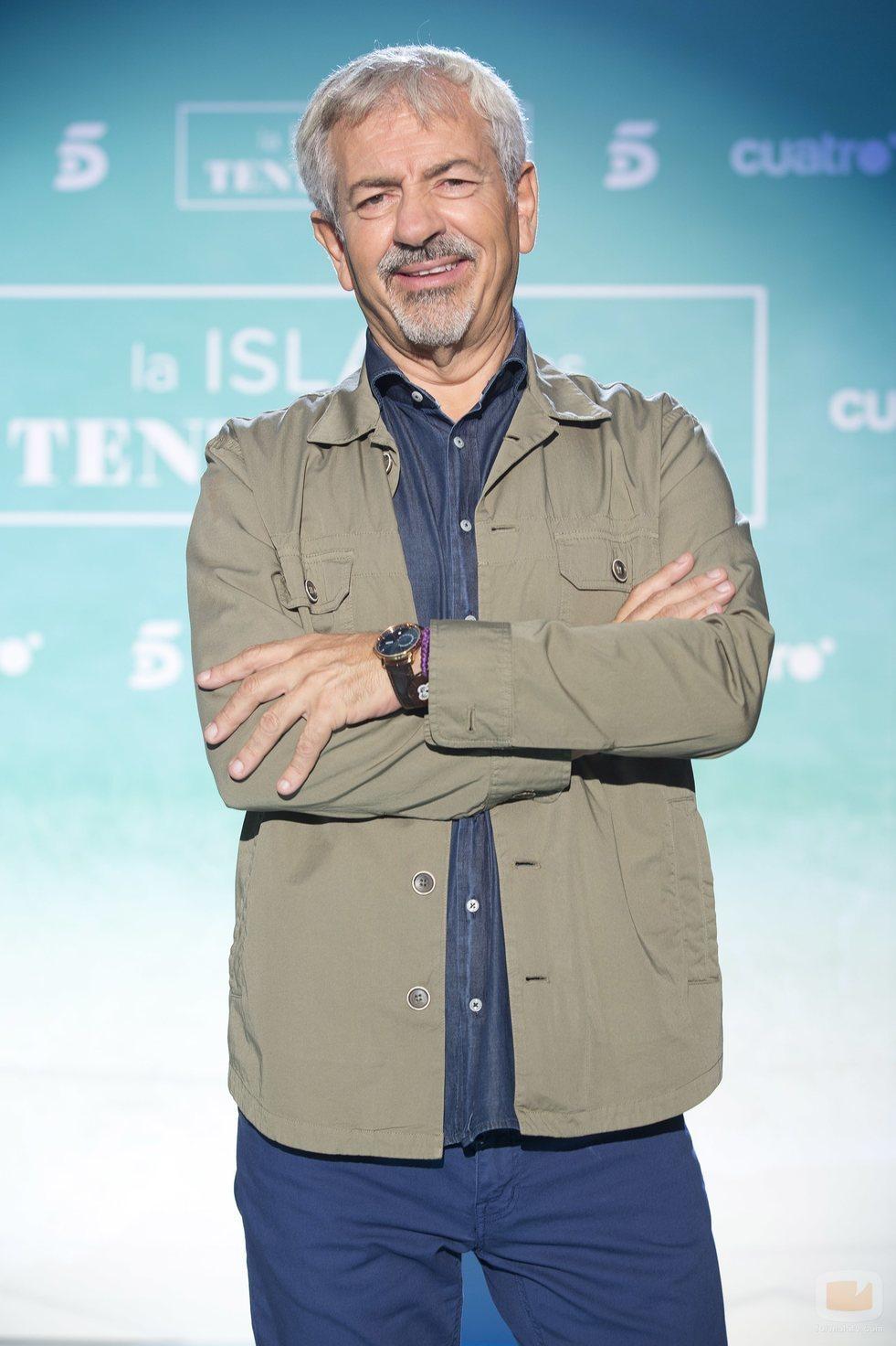 Carlos Sobera, presentador del debate de 'La isla de las tentaciones 2'